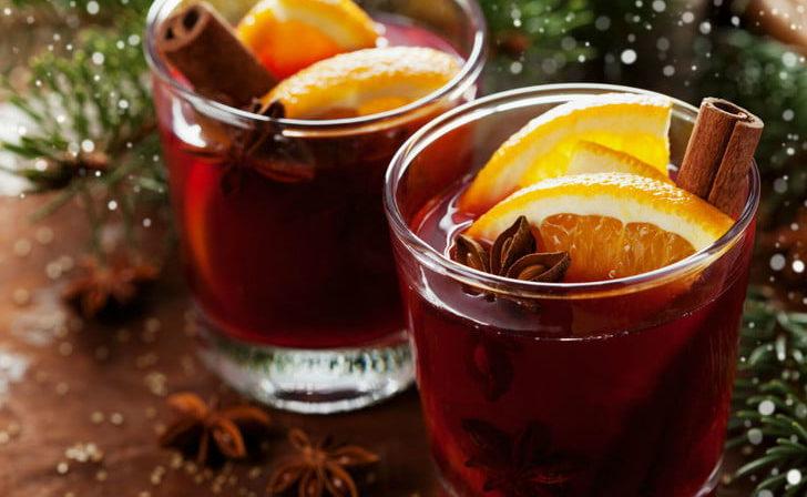 hot holiday drinks xmas