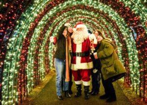 Santa at Silverton Christmas Market